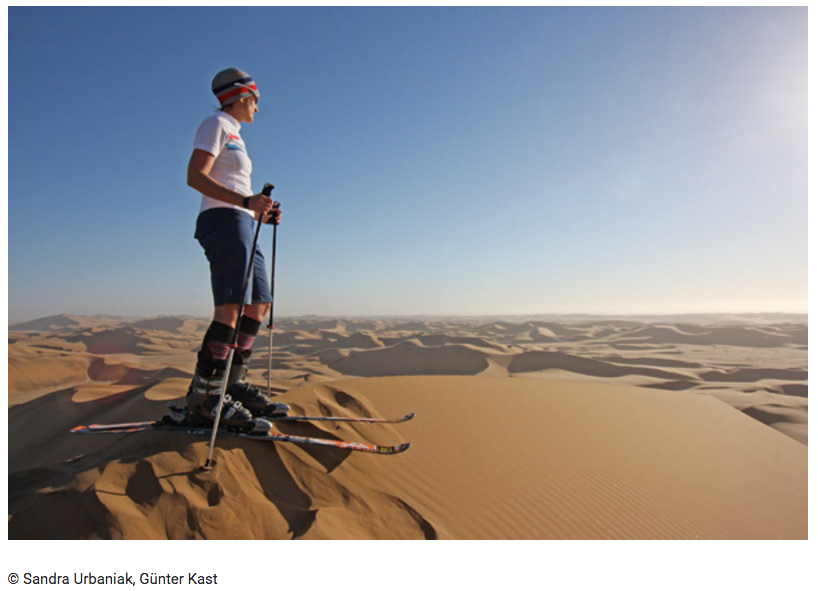 Skimagazin, Skifahren in Namibia